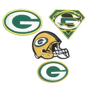 Green Bay Packers Patch Iron On NFL Patches DIY
